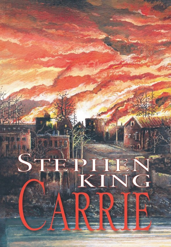 Carrie • Stephen King (1975, Paperback)