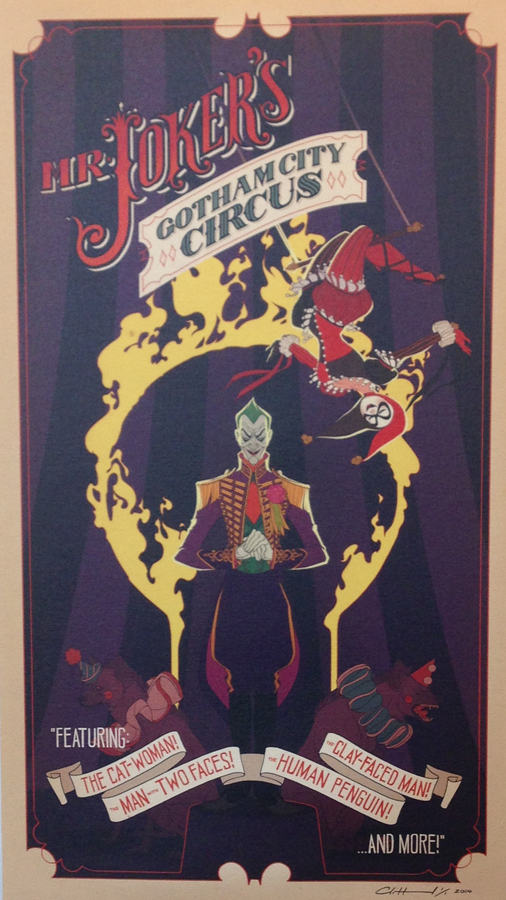 MR_JOKER's_Gotham_City_Circus_Claire_Hummel_MINTcondition_Ltd_Art_Gallery