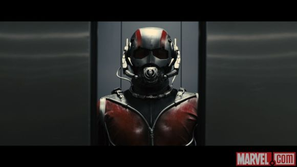Photo of Ant-Man from the film's test footage 4