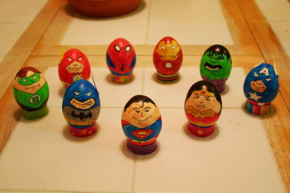 comic-dc-marvel-eggs