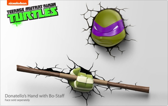 Donatello's hand with Bo-Staff