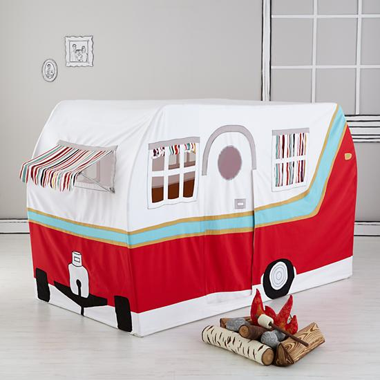 Land of Nod Jetaire Camper Play Tent & The S'more The ...
