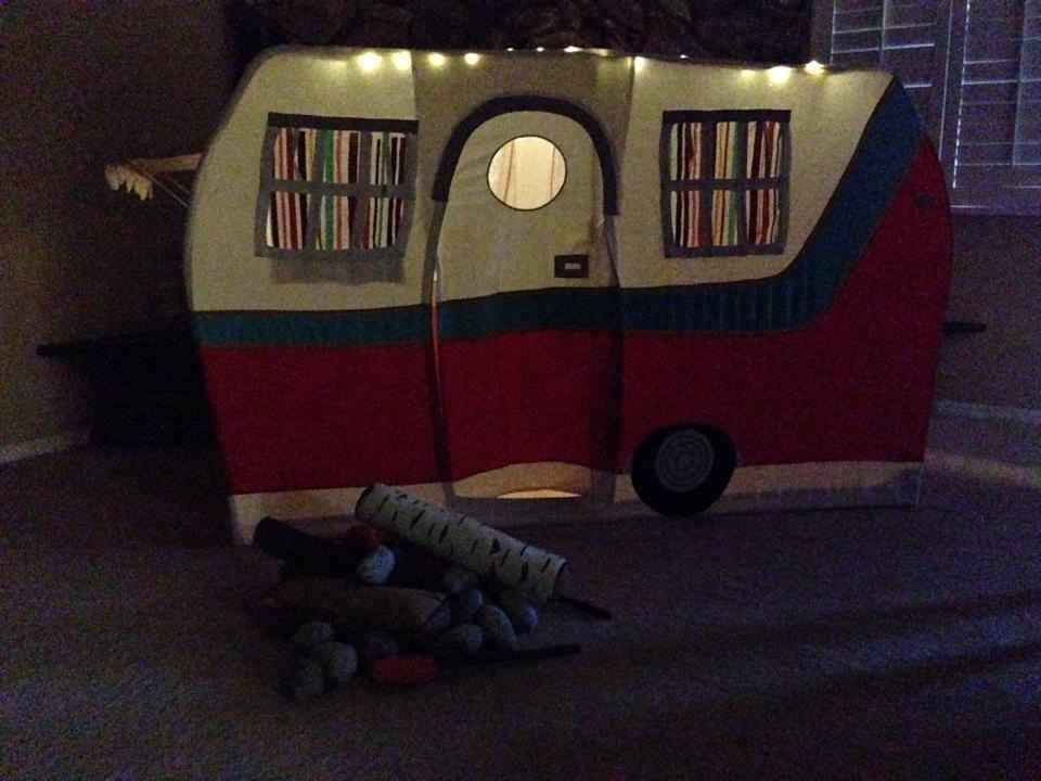 land of nod jetaire camper play tent amp the s�more the