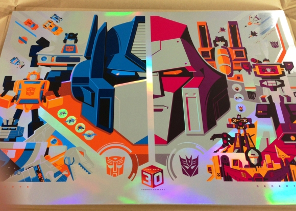 TRANSFORMERS 30th Anniversary Foil Variant