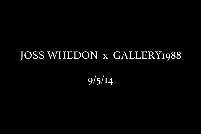 Announces Joss Whedon Inspired Art Show Opening On September 5, 2014