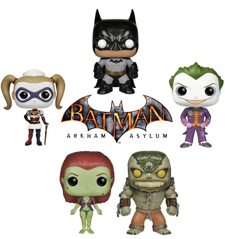 Funko To Release Batman Arkham Asylum Pop Vinyl Figures