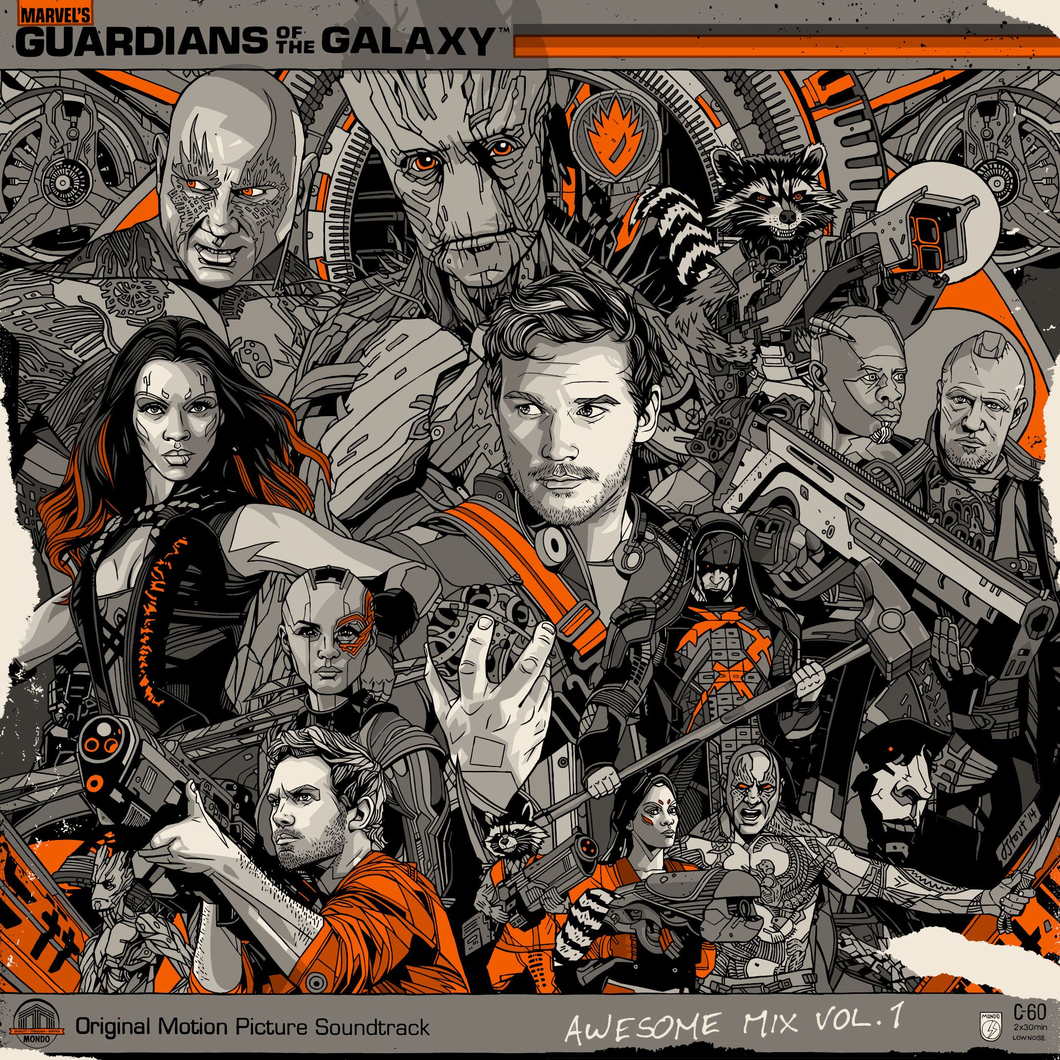 Mondo To Release The Guardians Of The Galaxy Soundtrack On