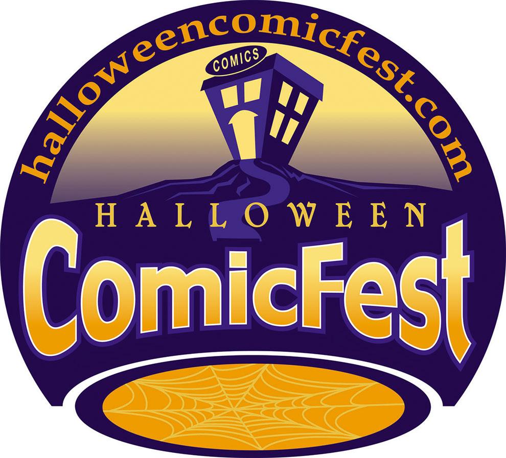 Image result for halloween comicfest logo