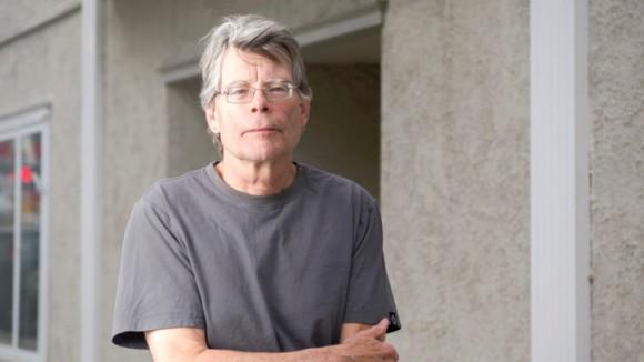 Author Stephen King in Bridgton, Maine.