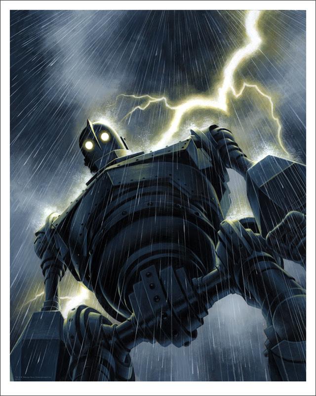MONDO Iron Giant Posters, T-Shirts & Bolt Replica (Pre ...