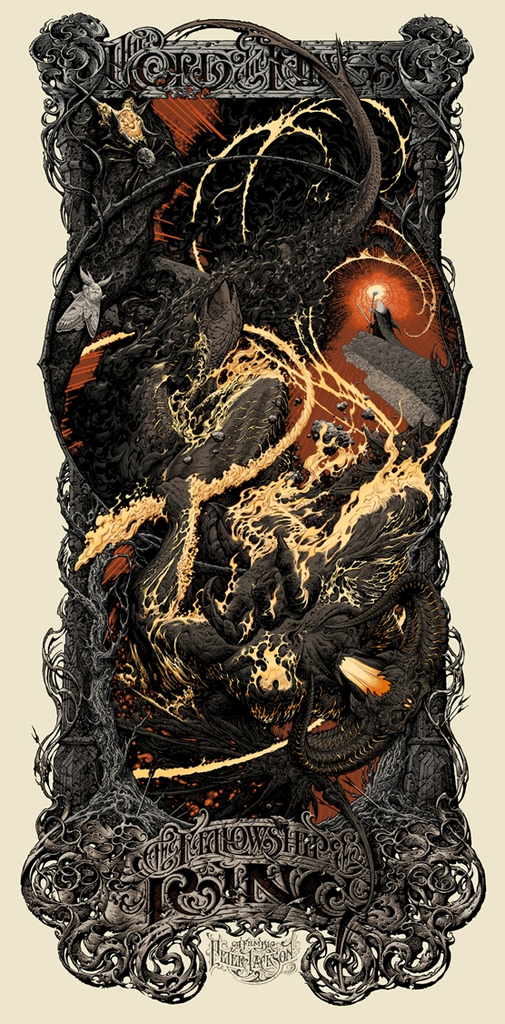 The Lord of the Rings- The Fellowship of the Ring by Aaron Horkey