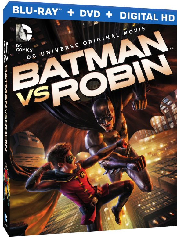 Batman vs Robin 3D box art