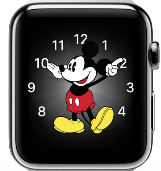 AppleWatchMickey