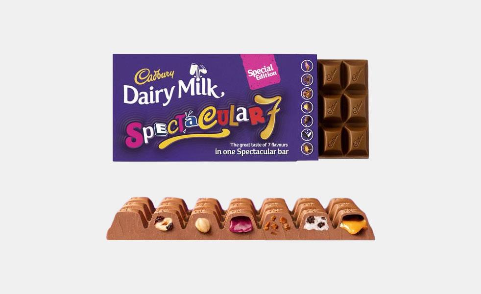Cadbury Dairy Milk Spectacular 7 Chocolate Bar