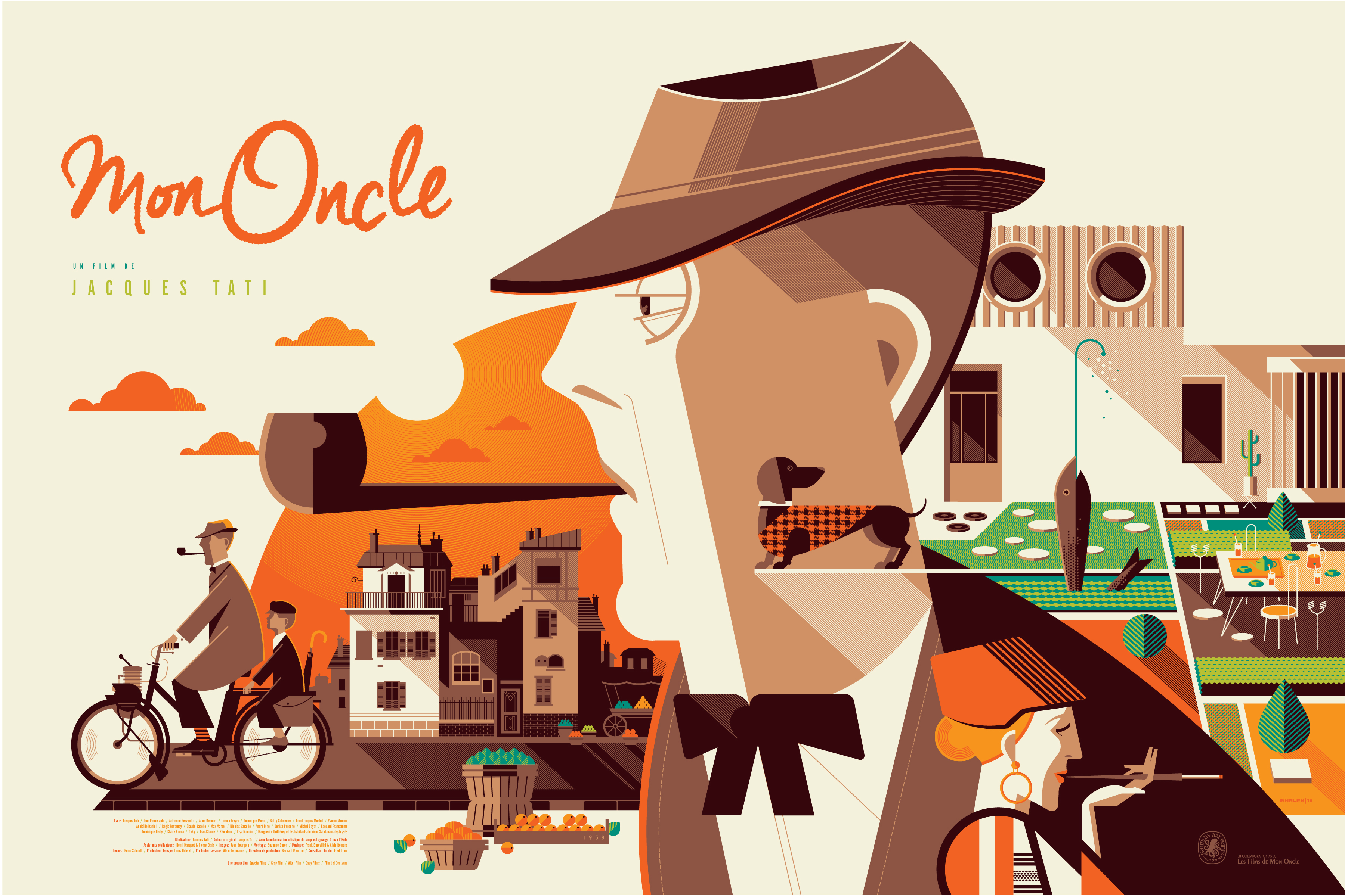 Nautilus art prints to release mon oncle print by tom for Uncle tom s cabin first edition value