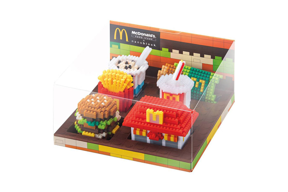 Have sold out of their fun restaurant themed nanoblocks sets