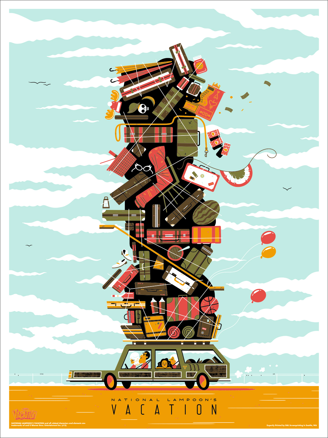 MONDO To Release Vacation Poster By Andrew Kolb On July 30 ...