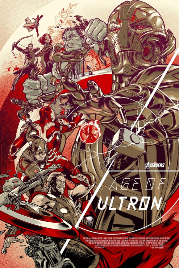 Avengers Age of Ultron by Martin Ansin (Variant)