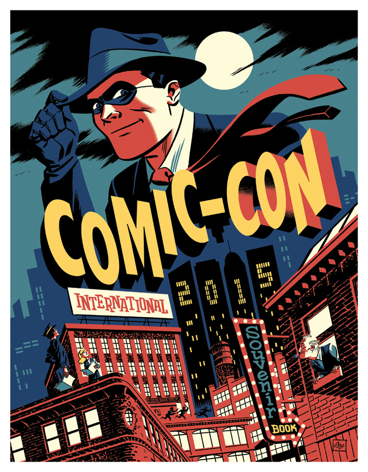Comic Book Cover Graphics : San diego comic con through the years