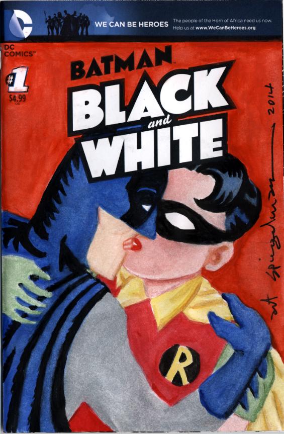 chip kidd presents  batman black and white  the sketch