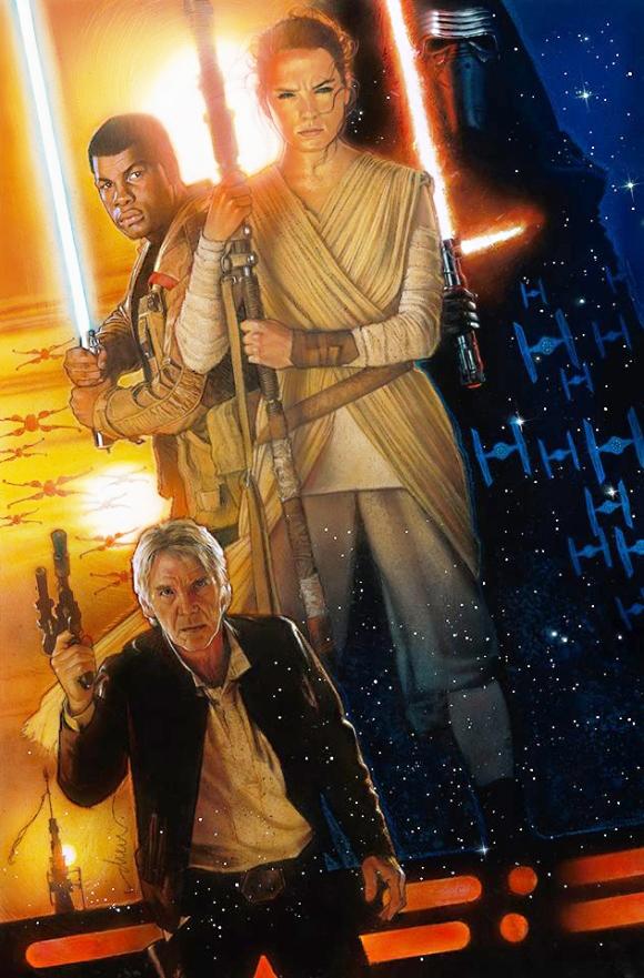 Star Wars - The Force Awakens by Drew Struzan