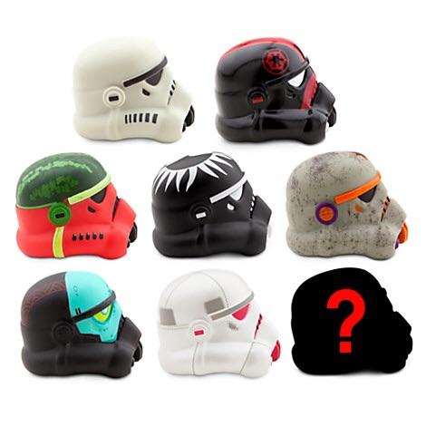 Star Wars Legion Helmet Vinyl Figures