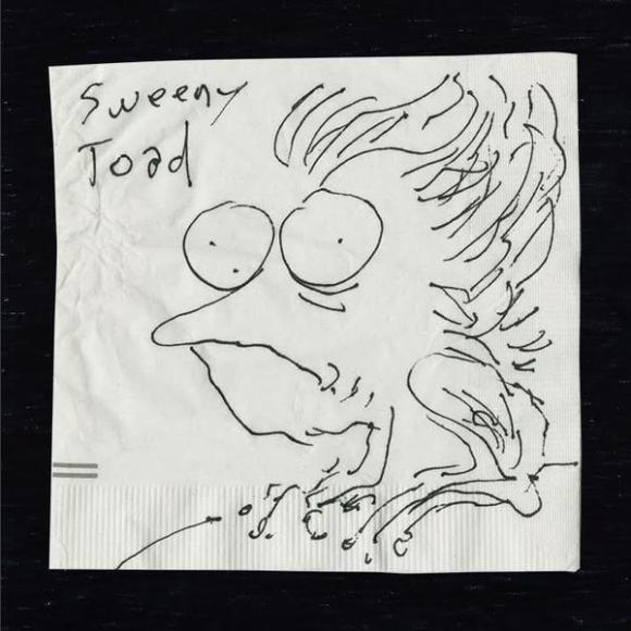 the napkin art of tim burton