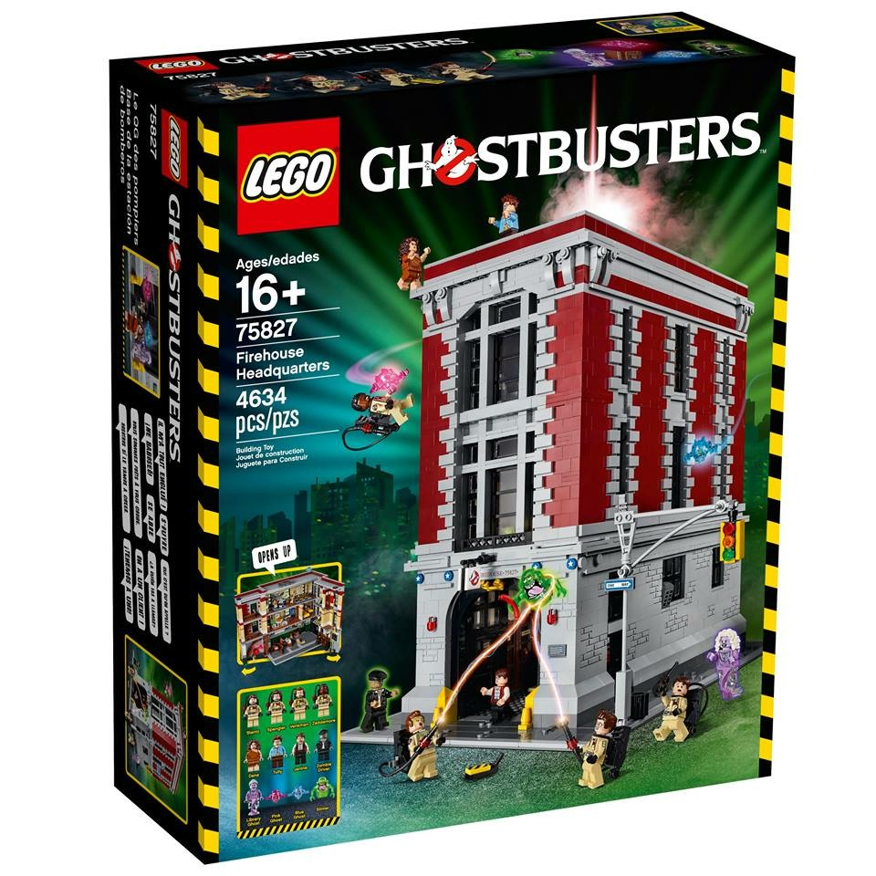 First Look At LEGO Ghostbusters Firehouse Headquarters