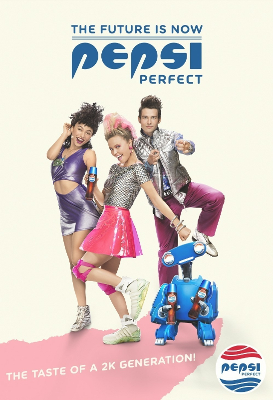 Pepsi Perfect Group Shot Print Ad