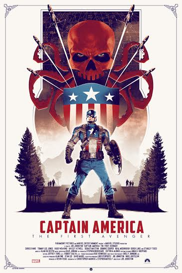 Marvel's Captain America The First Avenger 7-25 regular edition_reg