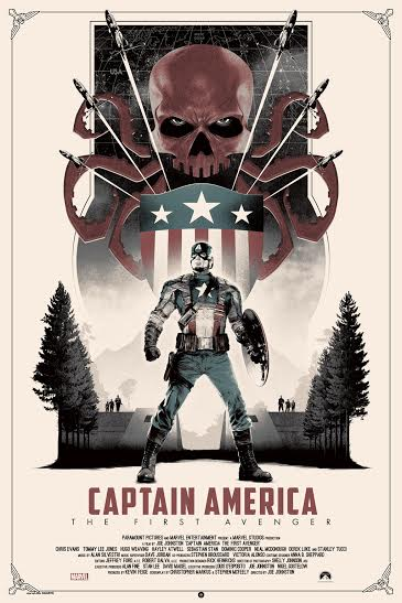 Marvel's Captain America The First Avenger 7-25 variant edition