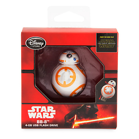 star wars the force awakens bb 8 4gb usb flash drive. Black Bedroom Furniture Sets. Home Design Ideas