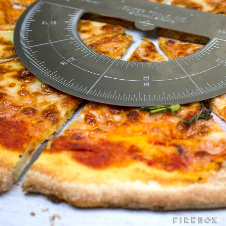 Protractor Pizza Cutter Helps You Cut Pizza Into 6 or 8