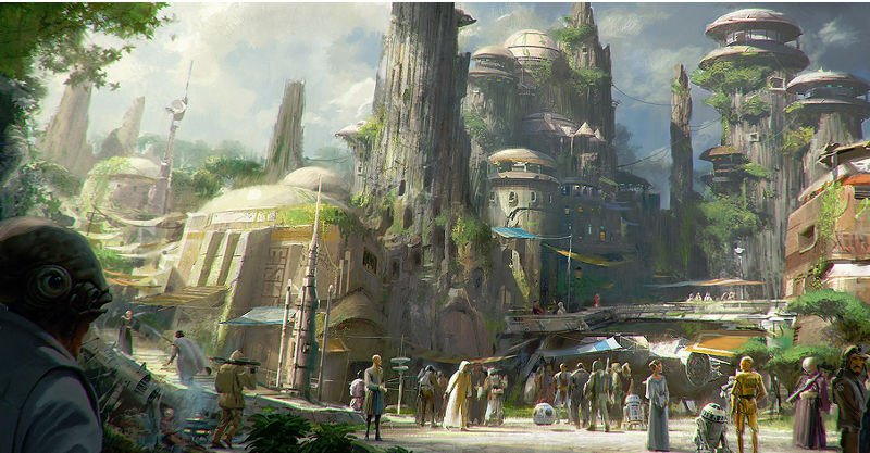 Harrison Ford To Unveil Disney S Star Wars Theme Park