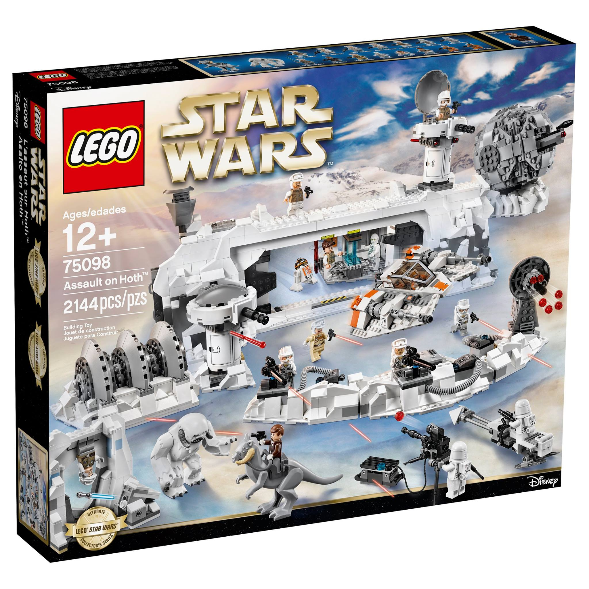 LEGO Star Wars Ultimate Collector's Series Assault On Hoth (75098) Set