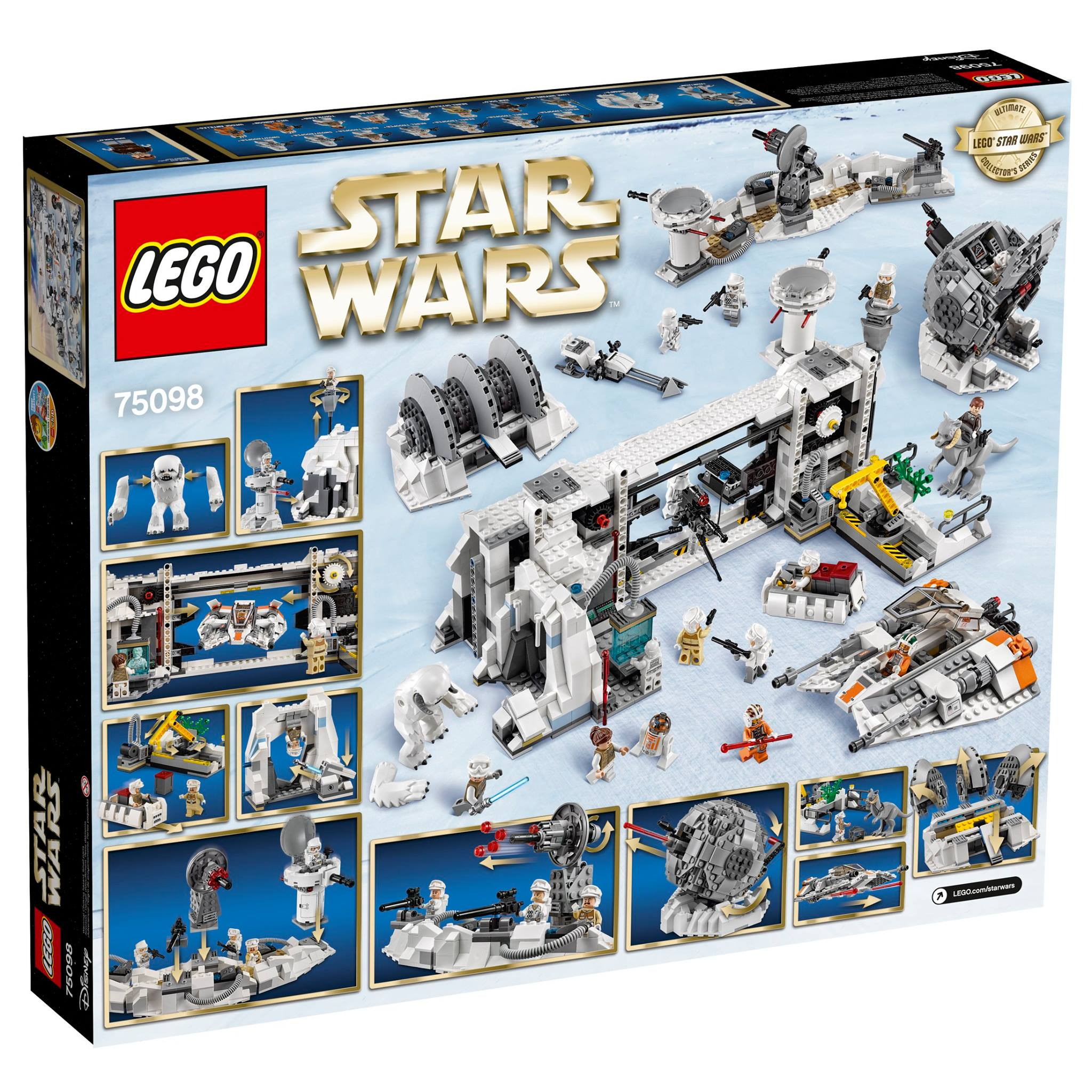 lego star wars ultimate collector s series assault on hoth 75098 2