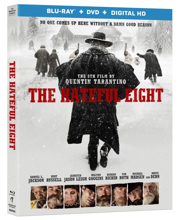 'The Hateful Eight' headed to DVD/Blu-Ray March 29