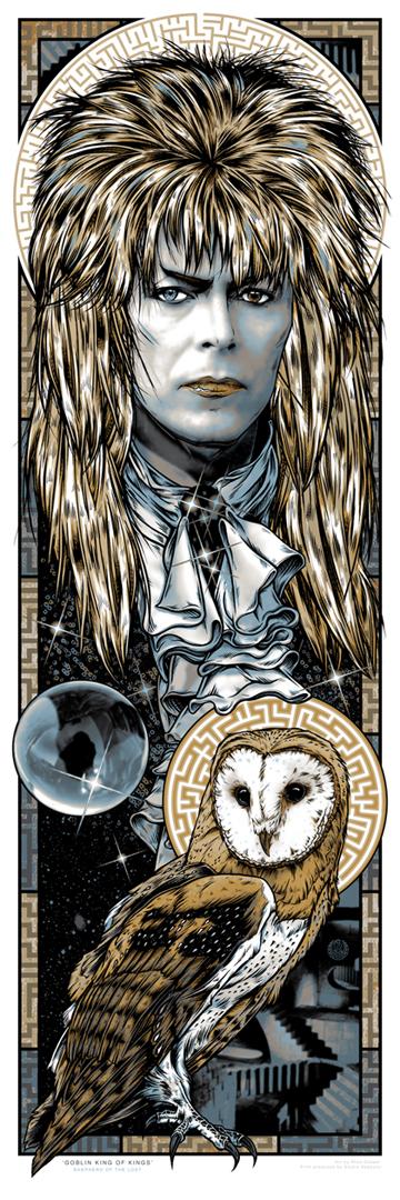 LABYRINTH GOBLIN KING print fin