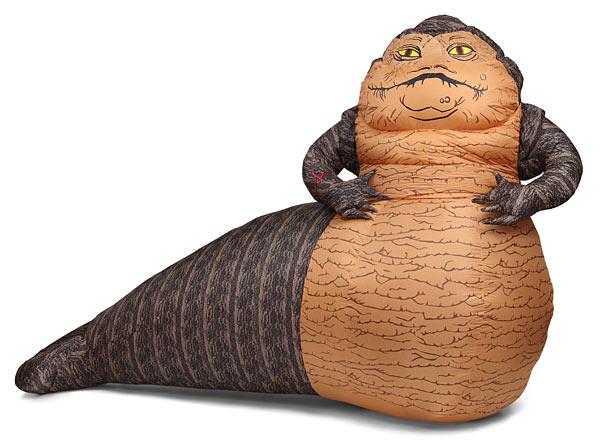 Star Wars Jabba the Hutt Inflatable Lawn Ornament Jabba The Hutt Costume