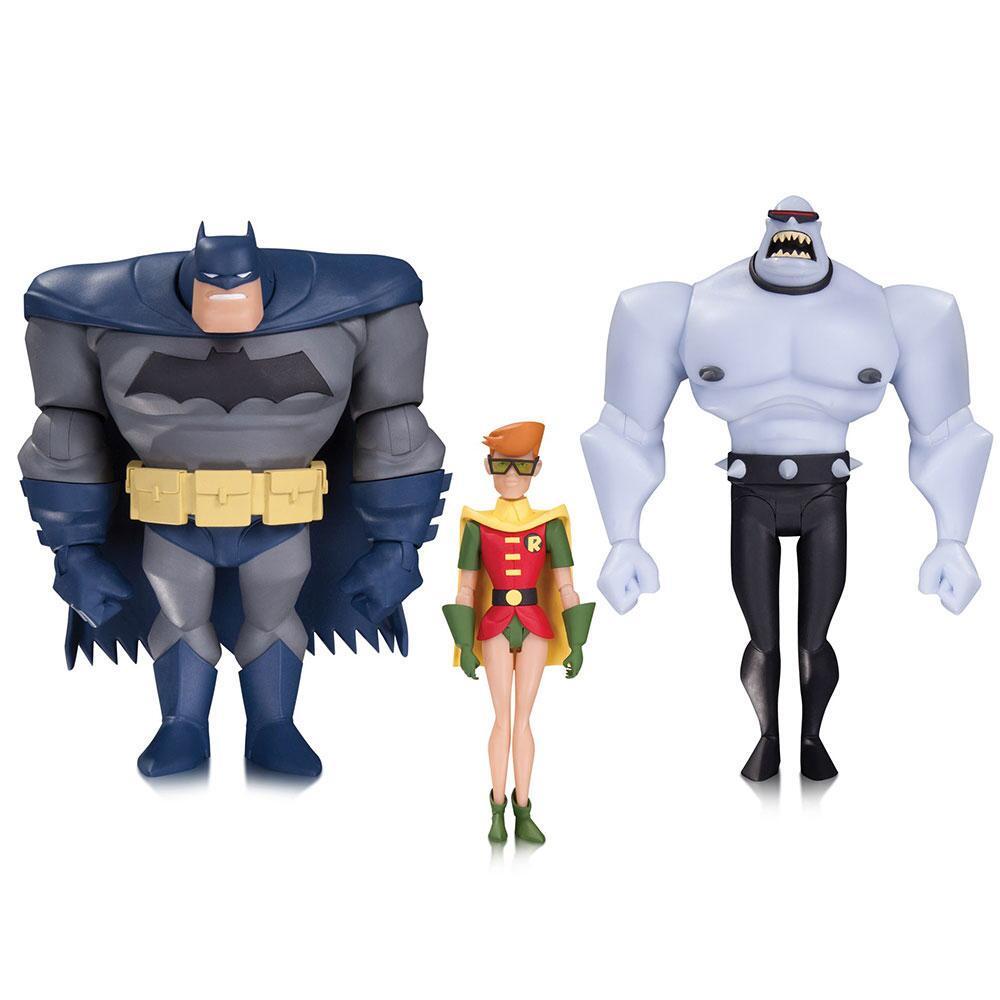 Batman the animated series batman robin mutant leader action figure 3 pack