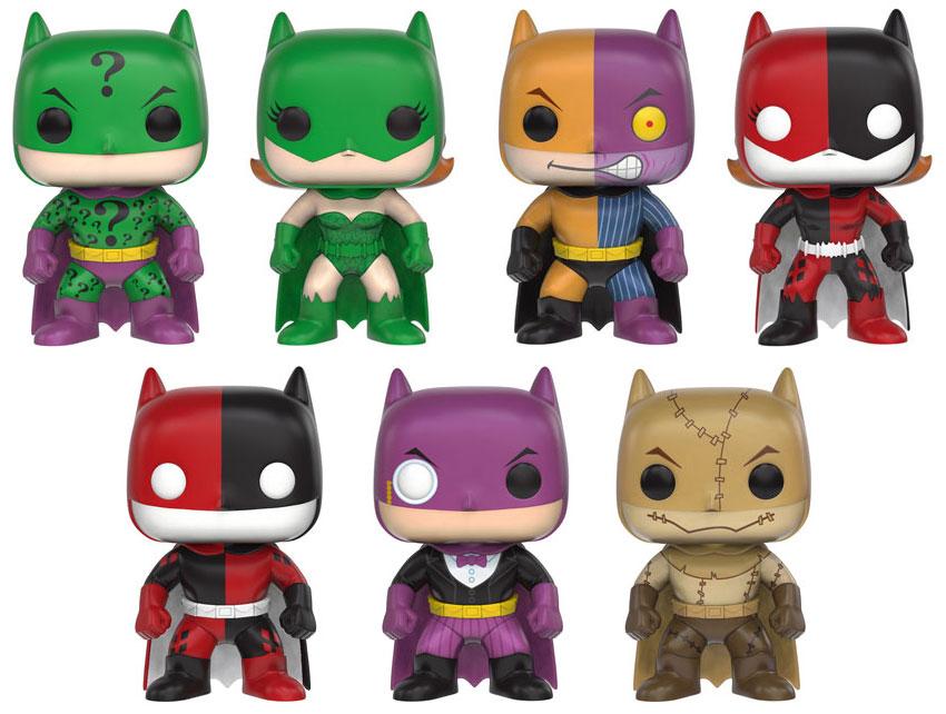Funko Announces Pop Heroes Batman Impopsters