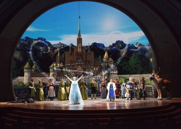 Disneyland Resort 'FROZEN - LIVE AT THE HYPERION'