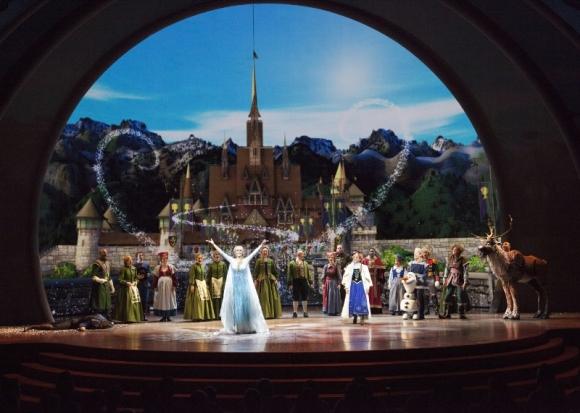Disneyland Resort 'FROZEN - LIVE AT THE HYPERION'