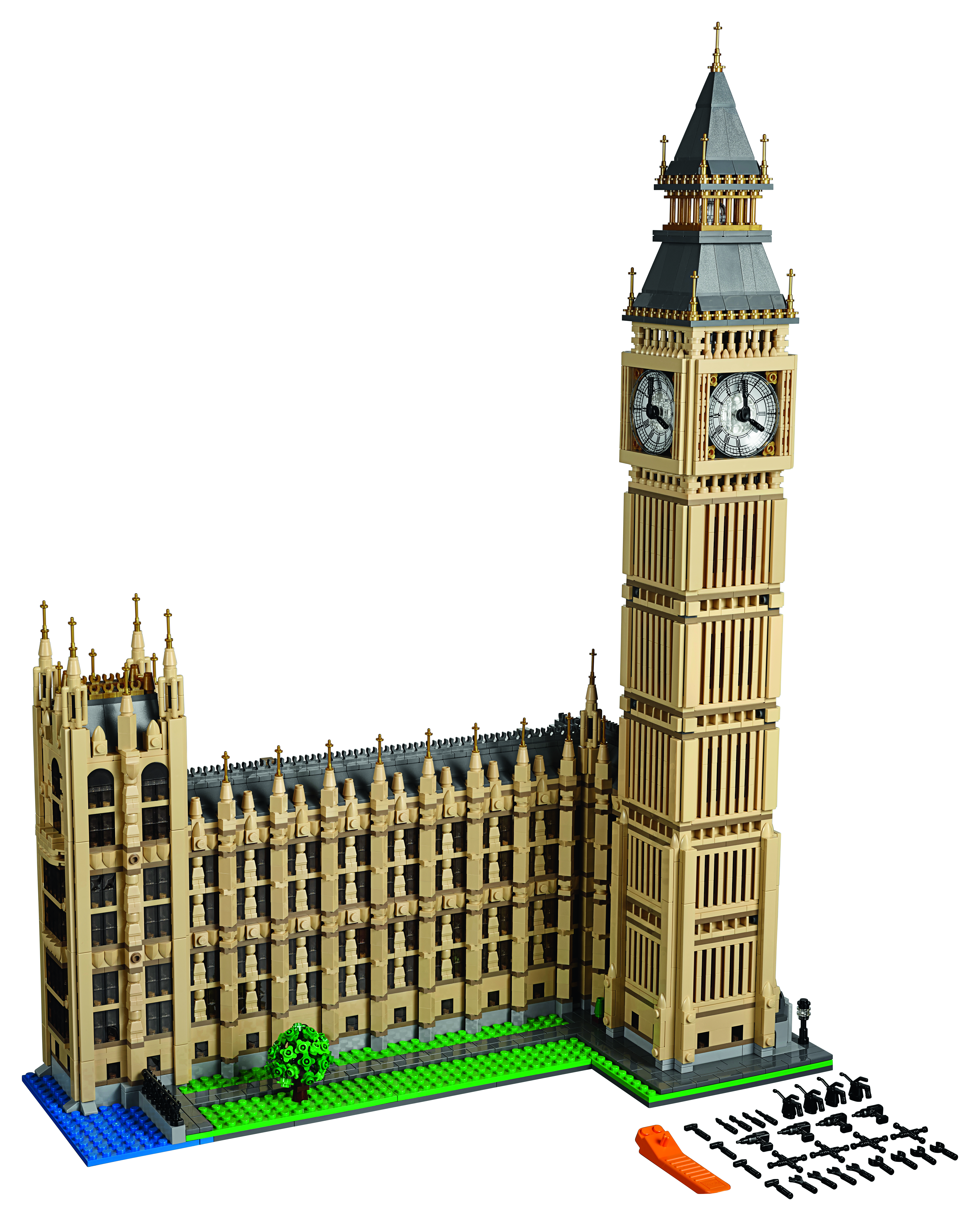 Lego Creator Big Ben 10253 Bentley Bust Out 8639