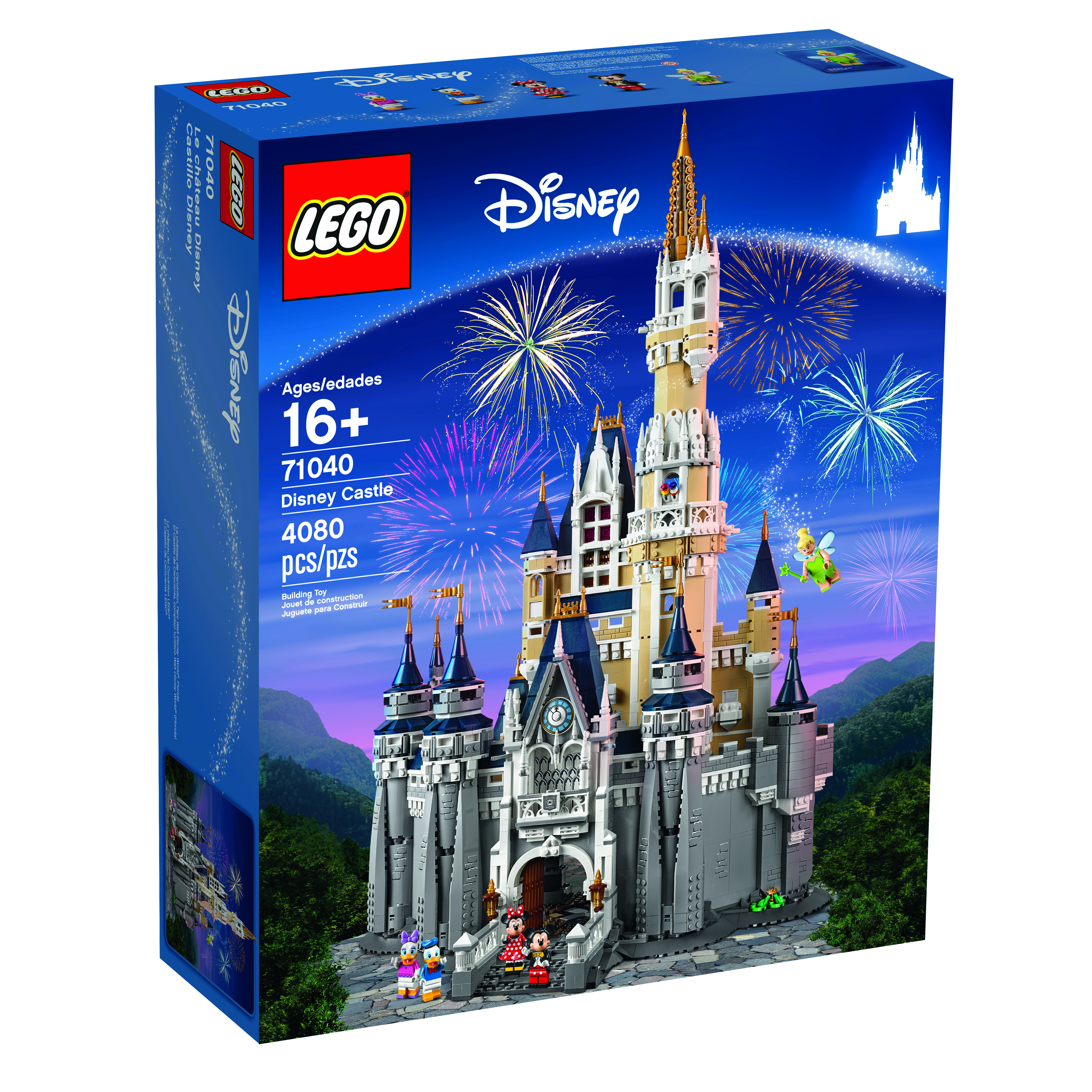 bring the magical world of disney to your home with the disney castle this highly detailed lego model with over 4000 pieces offers a rewarding build and - Blue Castle 2016