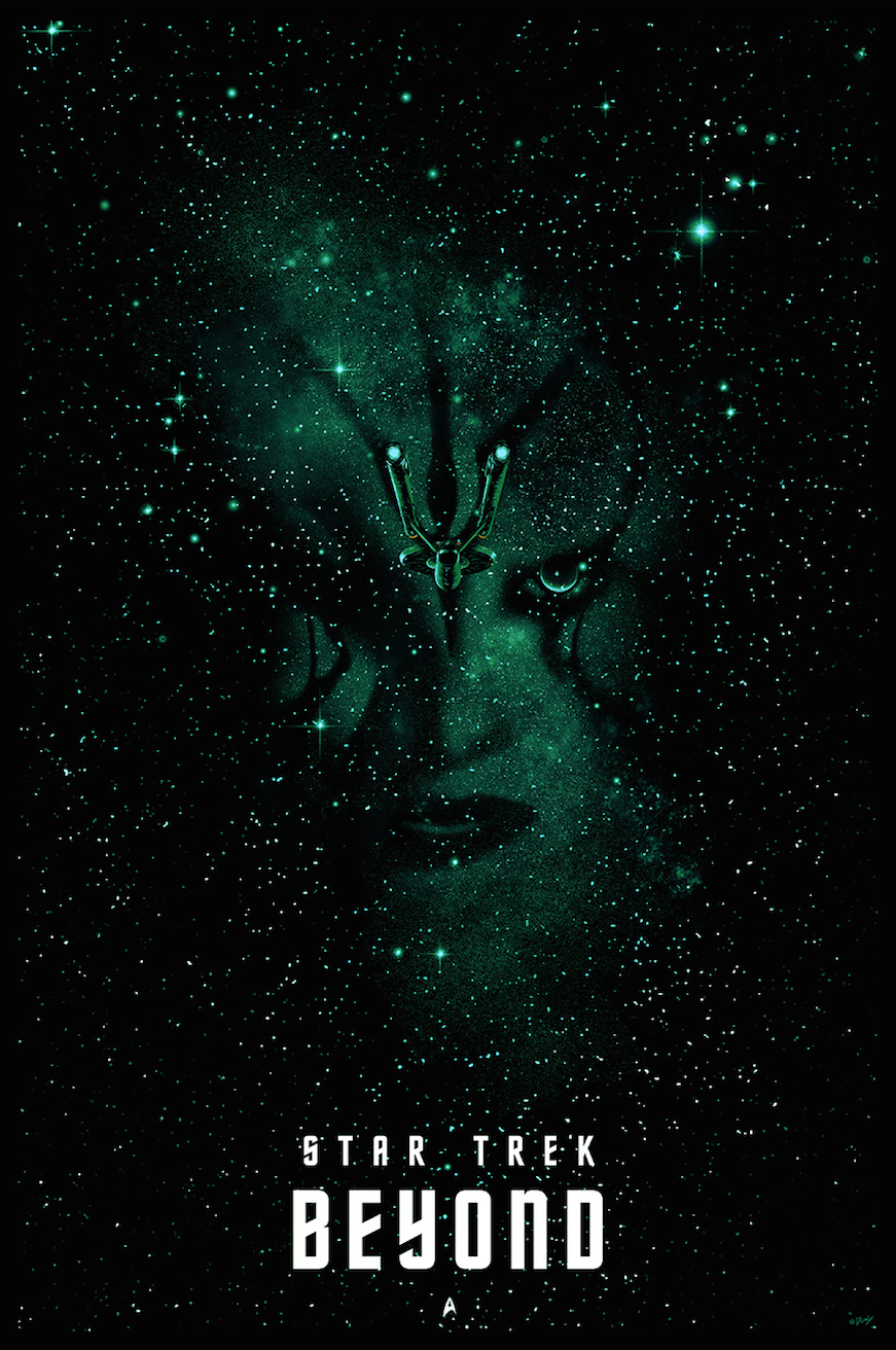 The Poster Posse Pays Tribute To Star Trek U2019s 50th