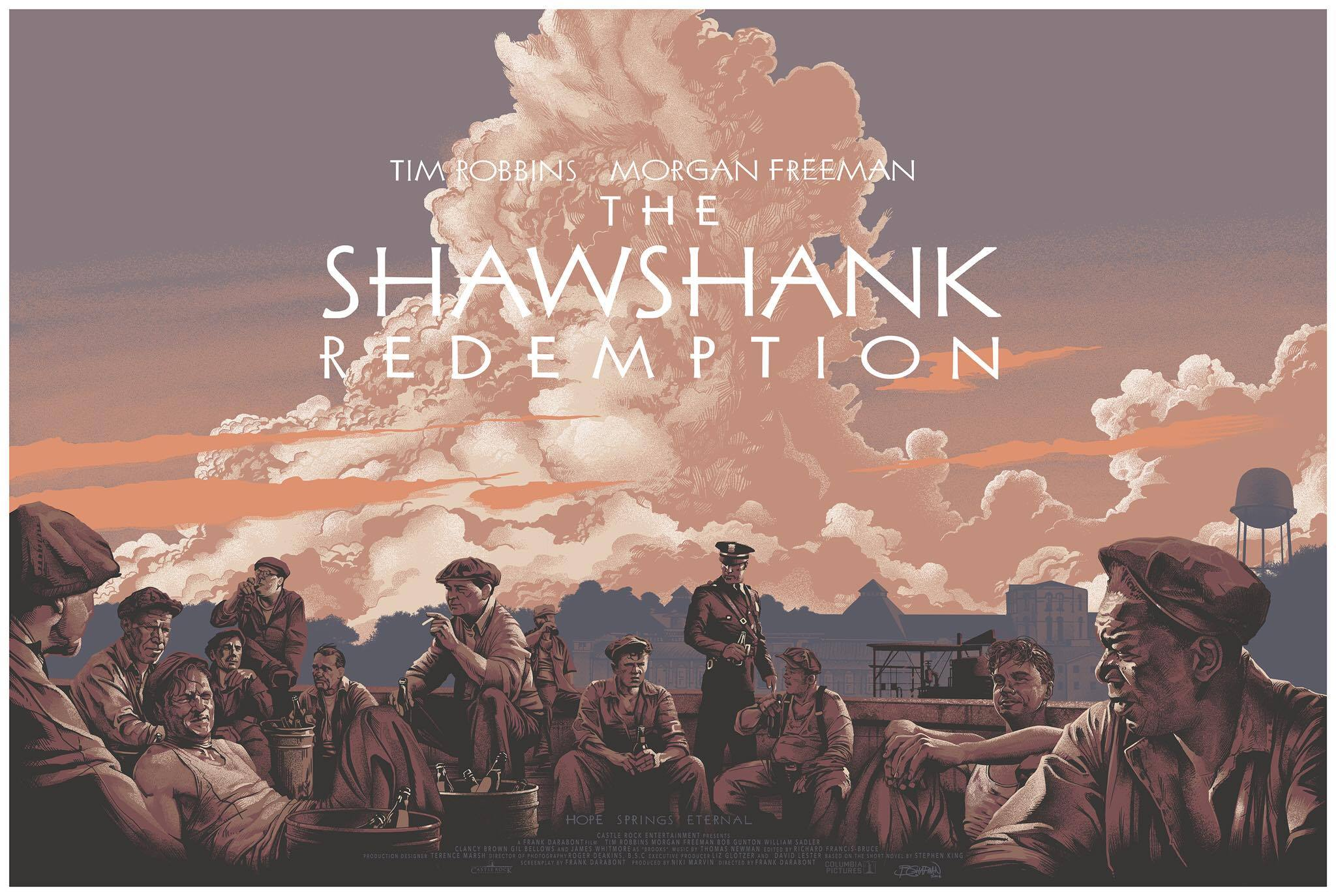 shawshank redemption essays the shawshank redemption commission  the shawshank redemption commission print by barret chapman 13987132 10154400868819183 1442513709 o 13989461 10154400867874183 792856509 n