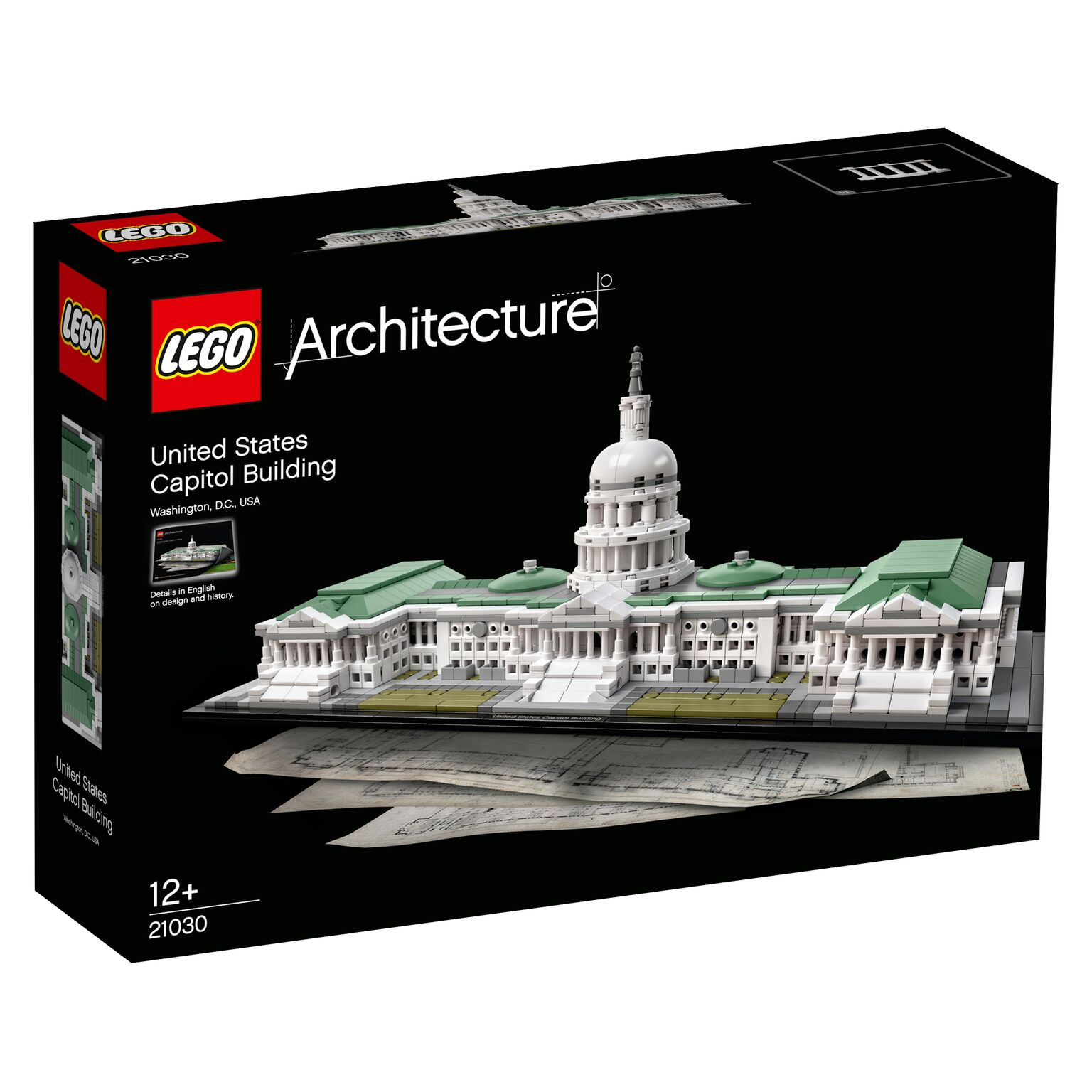 lego architecture capitol building states united kit build most