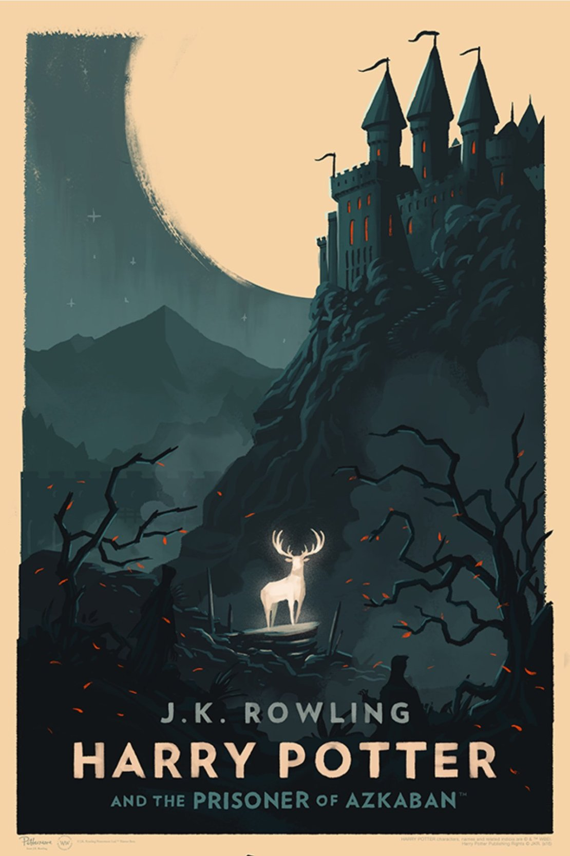 Harry potter prints by olly moss for 3 by 3 prints