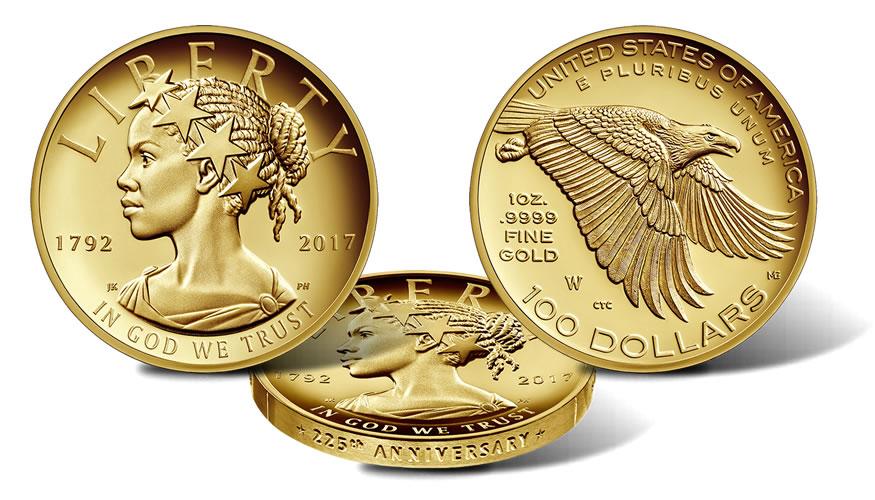 Moneda de oro de inversión EEUU